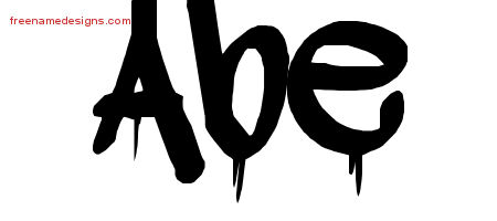 Graffiti Name Tattoo Designs Abe Free