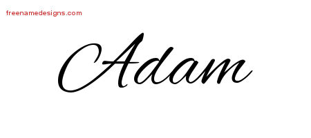 20 Cursive Name Tattoo Designs Adam Download Free - Free Name Designs.jpg