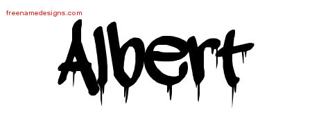Graffiti Name Tattoo Designs Albert Free