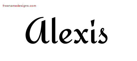 Calligraphic name tattoo designs alexis download free - Alexis Archives Page 3 Of 4 Free Name Designs