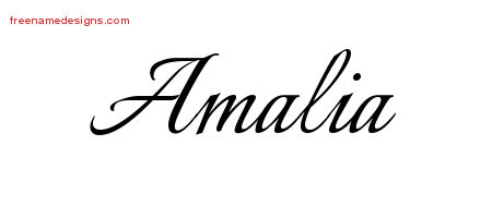 the name alyssa coloring pages | amalia Archives - Free Name Designs