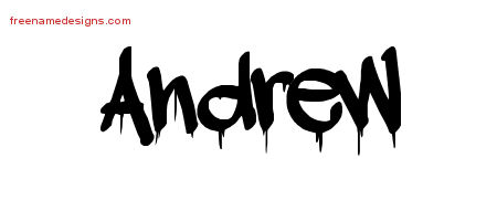 How to write andrew in graffiti