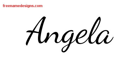 angela Archives - Free Name Designs