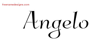 Elegant Name Tattoo Designs Angelo Download Free