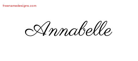 annabelle archives free name designs. Black Bedroom Furniture Sets. Home Design Ideas