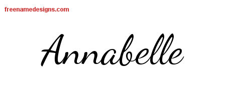 annabelle Archives - Free Name Designs
