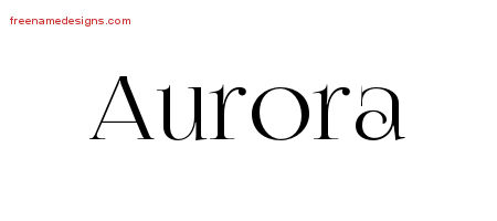 aurora Archives - Page 2 of 2 - Free Name Designs