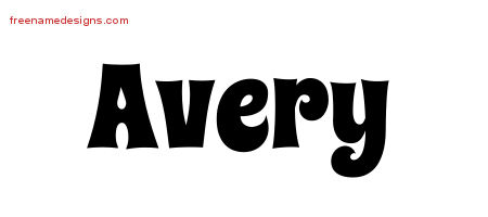 groovy name tattoo designs avery free free name designs