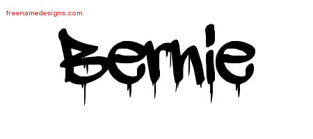 Graffiti Name Tattoo Designs Bernie Free Lettering