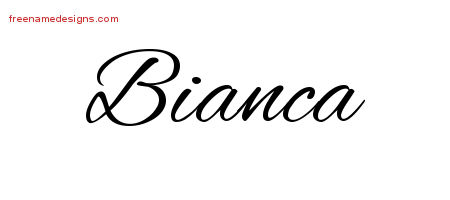 bianca Archives - Free Name Designs