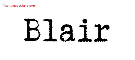 blair Archives - Free Name Designs