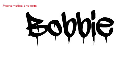 Graffiti Name Tattoo Designs Bobbie Free