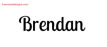 brendan Archives - Free Name Designs