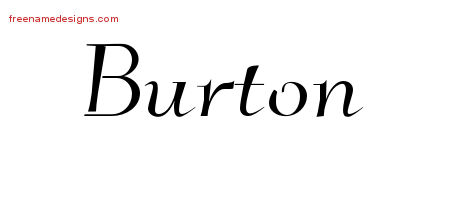 Burton Archives Page 2 Of 2 Free Name Designs