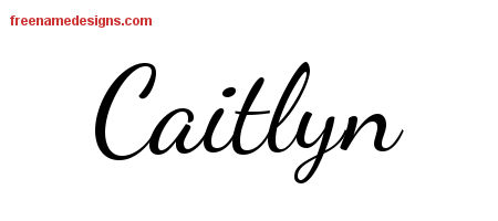 caitlyn archives   free name designs