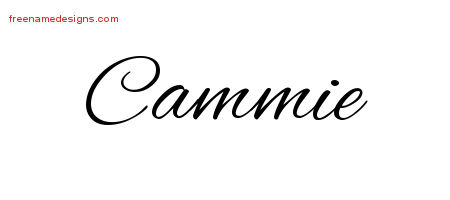 Cursive Name Tattoo Designs Cammie Download Free
