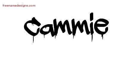 Graffiti Name Tattoo Designs Cammie Free Lettering