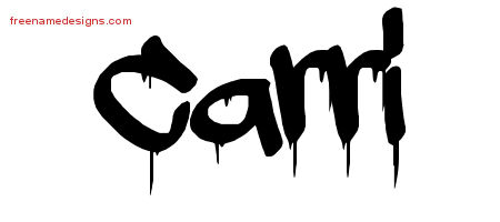 The Name Carly In Bubble Letters