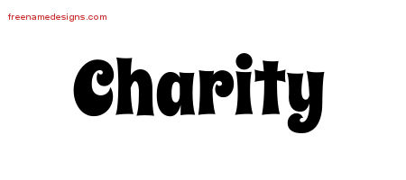 Groovy Name Tattoo Designs Charity Free Lettering