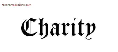 Blackletter Name Tattoo Designs Charity Graphic Download
