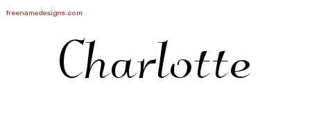 charlotte archives free name designs. Black Bedroom Furniture Sets. Home Design Ideas