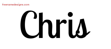 chris Archives - Free Name Designs