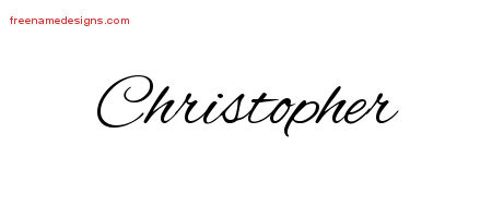 Christopher Name Art | www.pixshark.com - Images Galleries ...