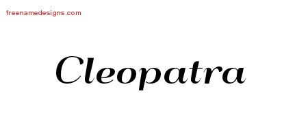 Cleopatra Archives Free Name Designs