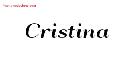 cristina Archives - Free Name Designs