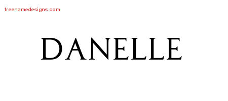 Regal Victorian Name Tattoo Designs Danelle Graphic Download