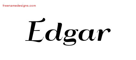 Edgar Archives Free Name Designs