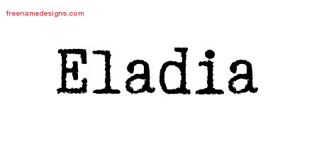 Typewriter Name Tattoo Designs Eladia Free Download