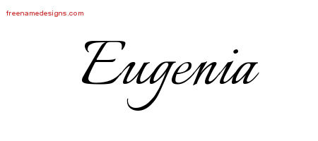 eugenia Archives - Free Name Designs