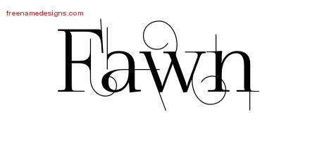 fawn archives free name designs. Black Bedroom Furniture Sets. Home Design Ideas