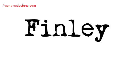 Finley Archives Free Name Designs
