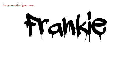 Graffiti Name Tattoo Designs Frankie Free