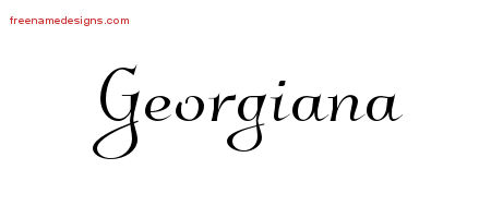 Georgiana archives page 2 of 2 free name designs for Georgiana design