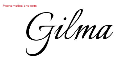 Calligraphic Name Tattoo Designs Gilma Download Free