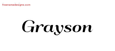 Grayson Meaning - YouTube  |Grayson Name