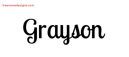 Grayson - Predicting the Most Popular Boy Baby Names for ...  |Grayson Name