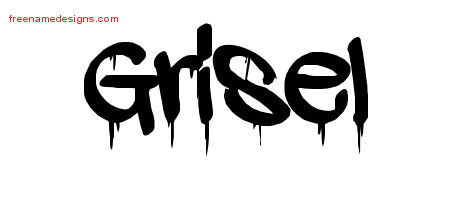 Graffiti Name Tattoo Designs Grisel Free Lettering