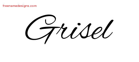 Cursive Name Tattoo Designs Grisel Download Free