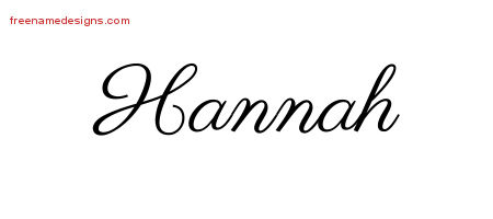 How to write hannah in graffiti