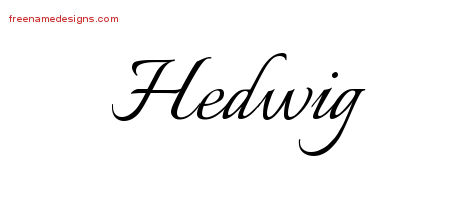 hedwig archives free name designs. Black Bedroom Furniture Sets. Home Design Ideas