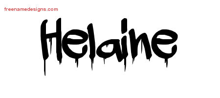 Graffiti Name Tattoo Designs Helaine Free Lettering