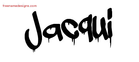 Graffiti Name Tattoo Designs Jacqui Free Lettering