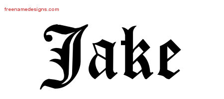 Jake Name Tattoo Archives Free Designs