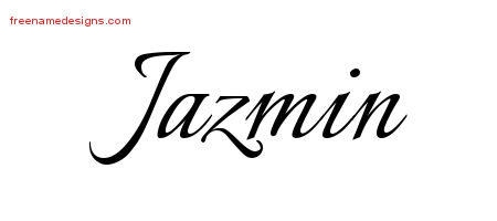 Jazmin tattoo