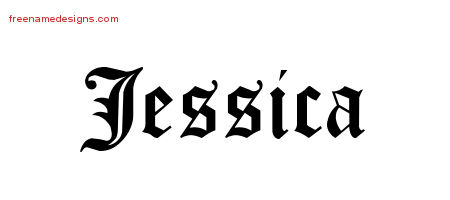 jessica name coloring pages | jessica Archives - Free Name Designs
