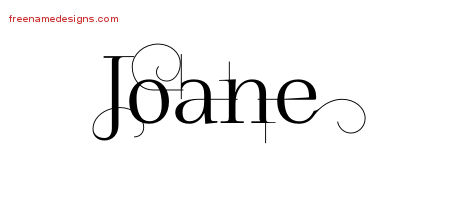 Decorated Name Tattoo Designs Joane Free